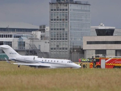 Cork Airport closed after wheel bursts on jet