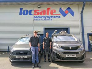 Locsafe has taken on two apprentices