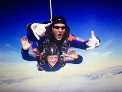 Shropshire nurse takes plunge in skydive to raise money for end of life care