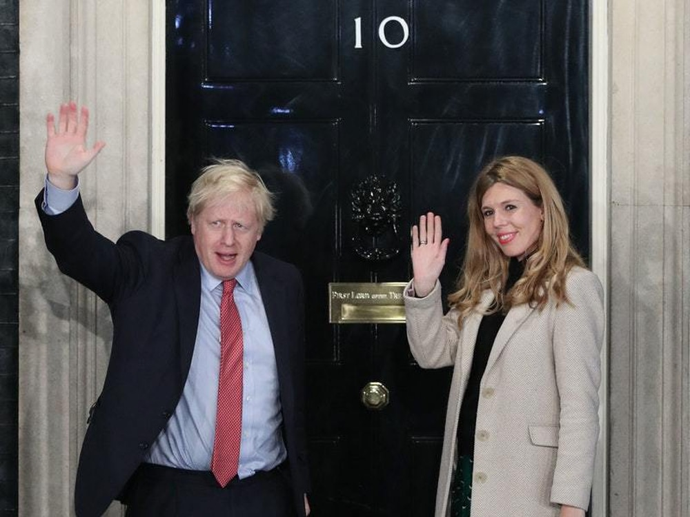 Boris Johnson and Carrie Symonds engaged and expecting baby