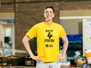 Oliver Phelps is supporting Doit4Youth