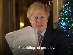 Boris Johnson presents the trade deal to the nation