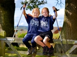 Shropshire girls, aged eight and nine, in 10-mile Snowdon trek for charity