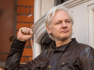 Julian Assange, who is being detained in Belmarsh prison in London (Dominic Lipinski/PA)