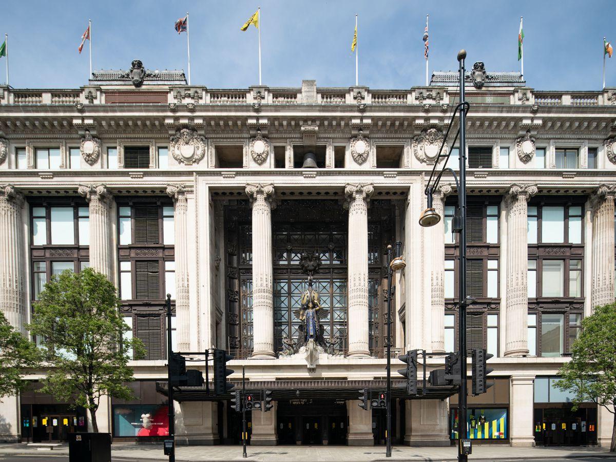 Selfridges in London's Oxford Street