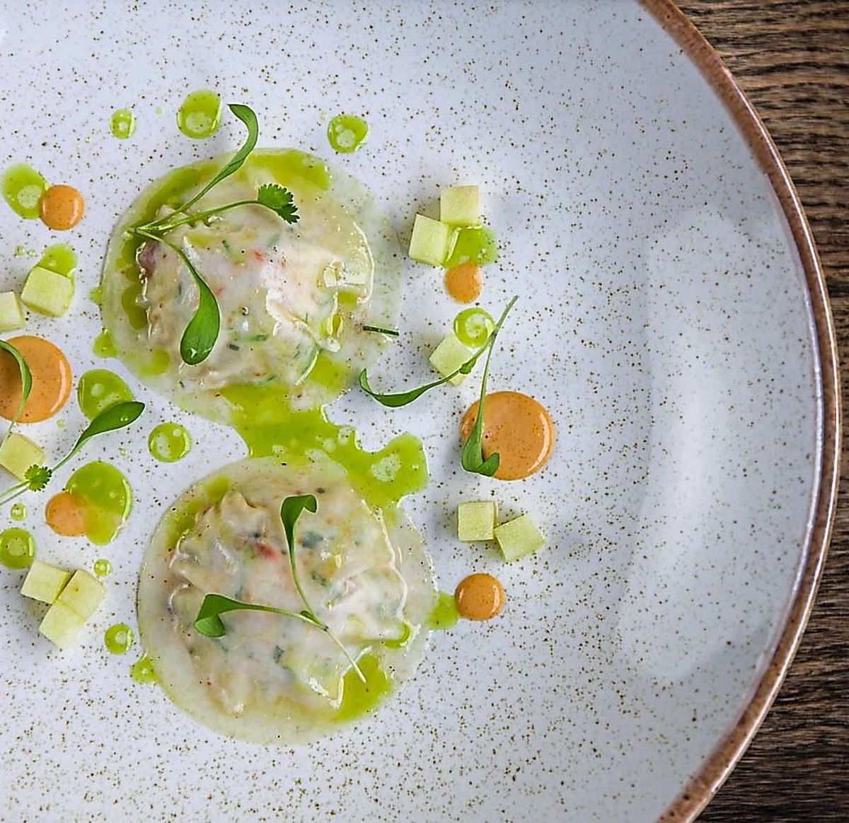 Packing a punch – crab with kohlrabi