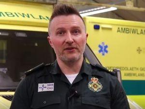 Welsh Ambulance Service chief executive Jason Killens. Source: Welsh Ambulance Service