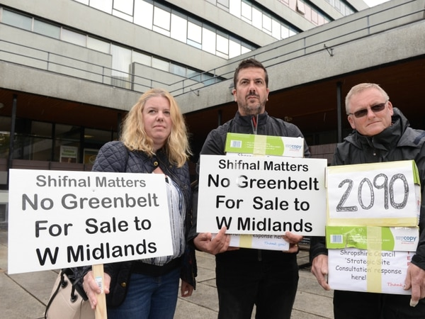Campaign starts to fund legal battle against Shropshire Council over Shifnal development plans