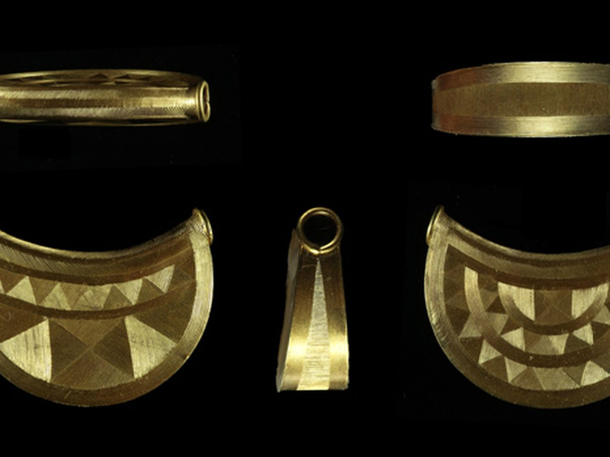The Sun Pendant found in Shropshire is an important Bronze Age discovery