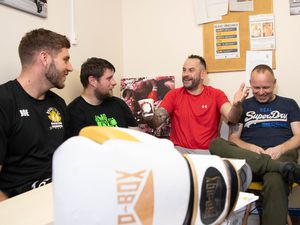 It is hoped people will be able to open up and talk at boxing sessions in Shifnal
