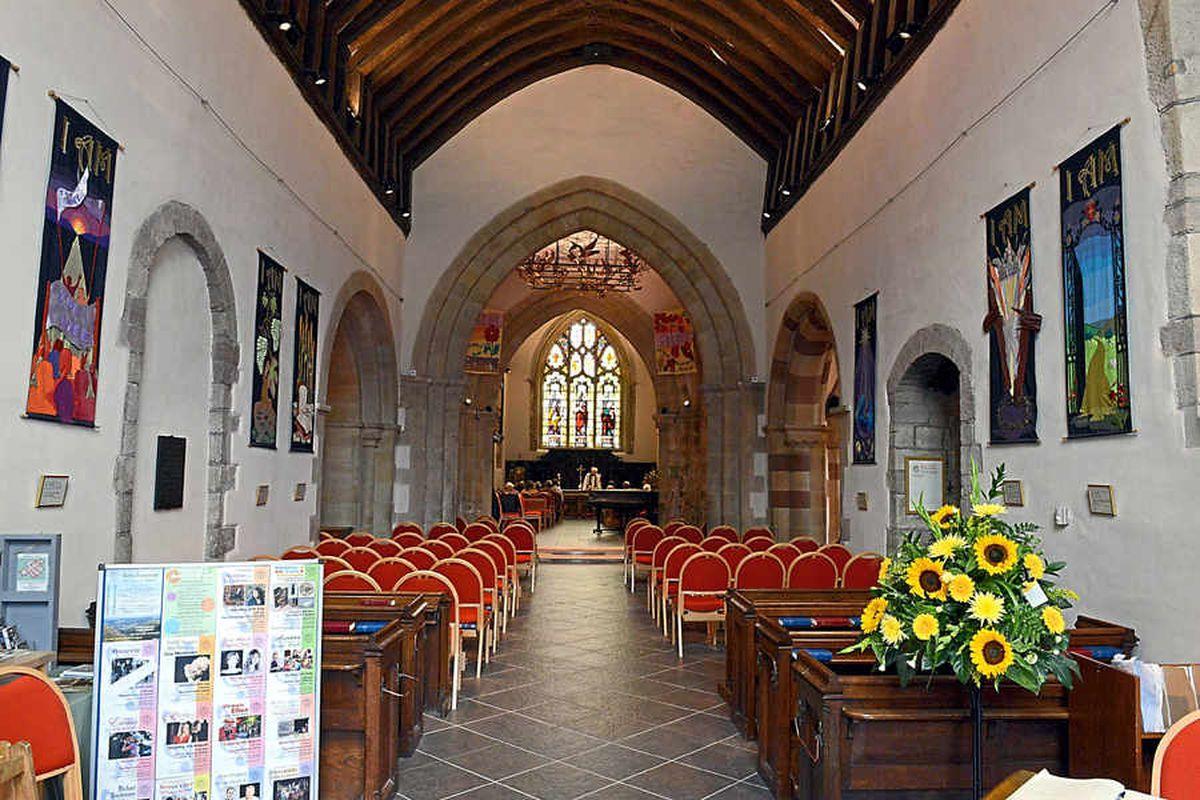St Laurence's Church in Church Stretton