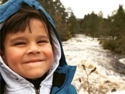 Boy who moved house day before UK lockdown receives messages from across world