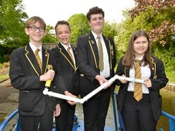 Pupils steering through challenge as school Stem contest hots up - with video