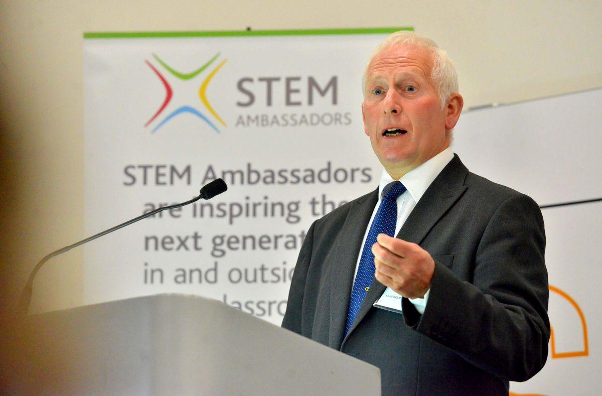 Lead STEM ambassador Malcolm Eyre