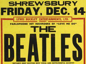 The Beatles played their first Shrewsbury gig on December 14, 1962
