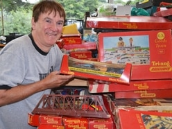 The toy trains which put Angell in heaven