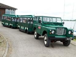 Climb onto Land Rover train for 50th