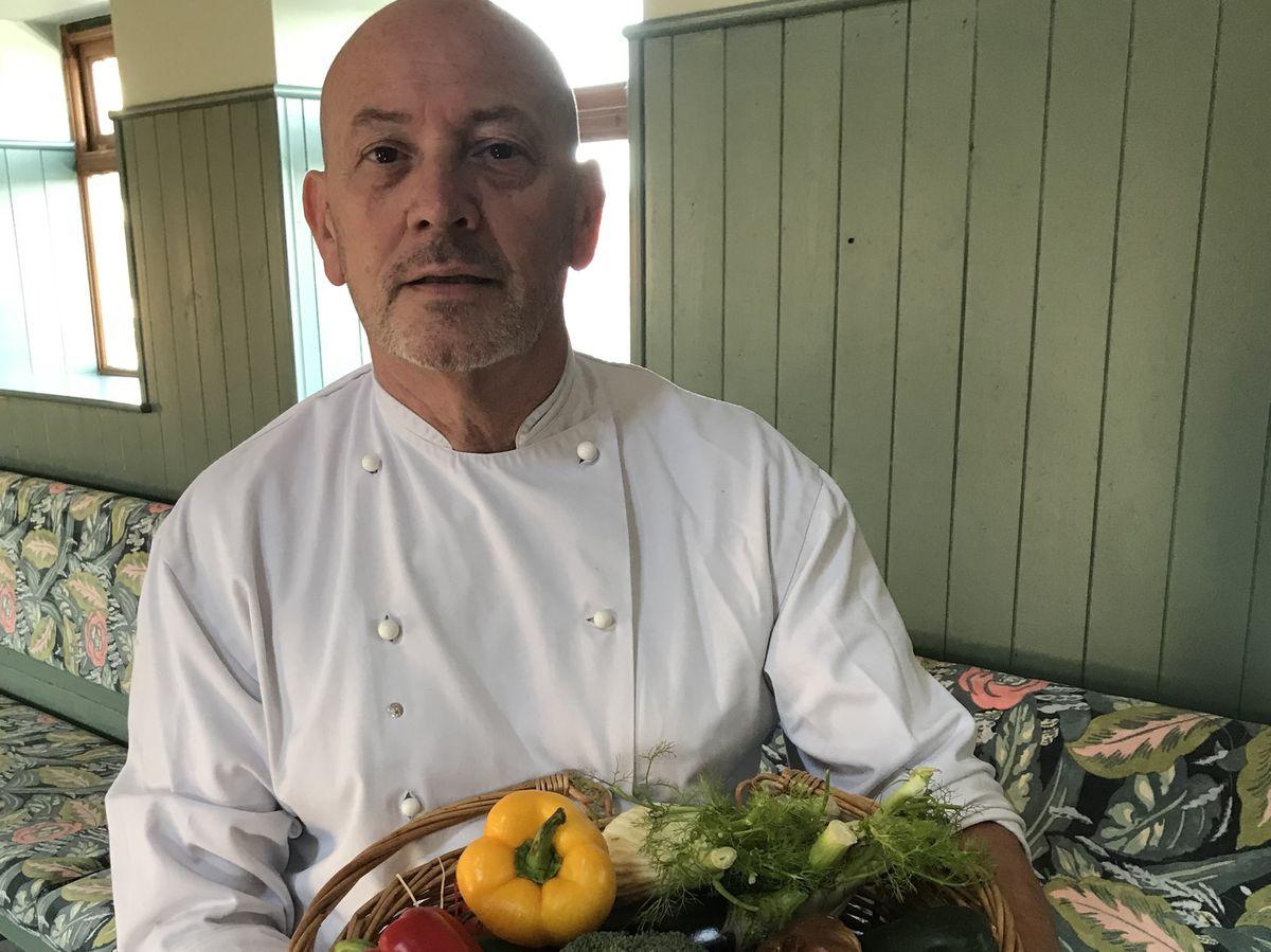 Lead chef David Ames has reopened the Apley Farm Shop cafe near Bridgnorth
