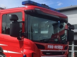 Bus and lorry involved in blazes in Oswestry