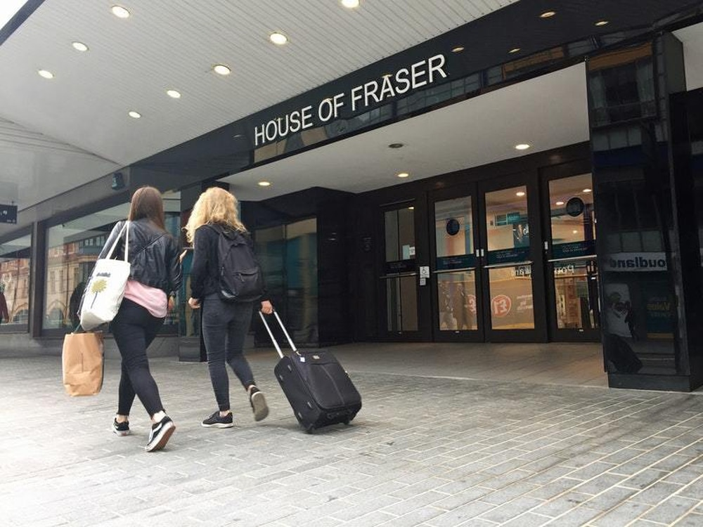 House of Fraser takes website offline after customer complaints