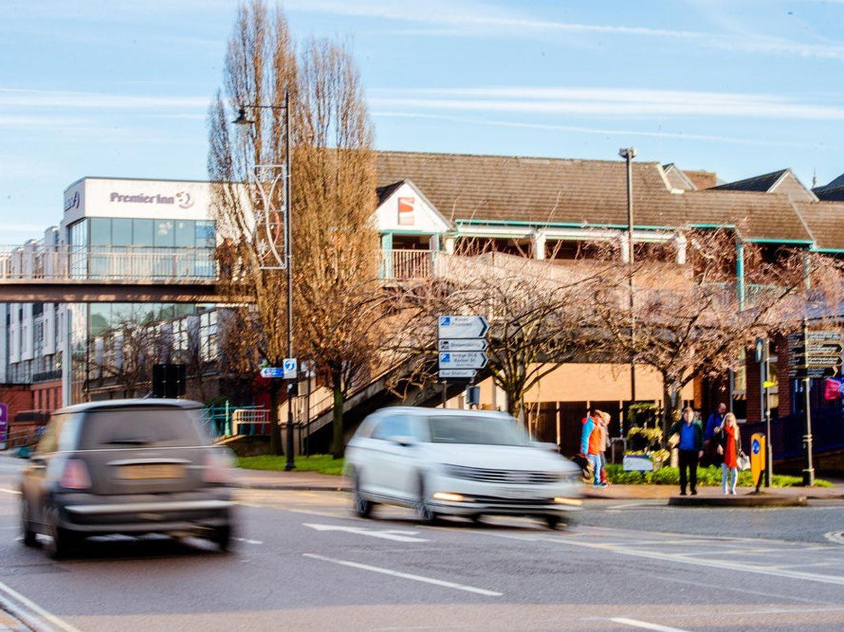 Shrewsbury's Riverside Shopping Centre