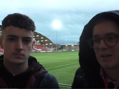 Fleetwood 2 Shrewsbury 1: Lewis Cox and Tom Leach discuss a frustrating defeat on the road - WATCH