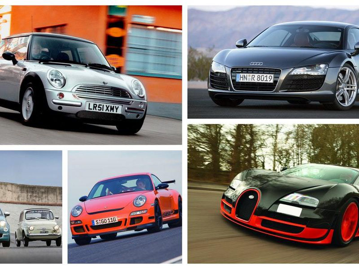 The top 10 cars of the 2000s