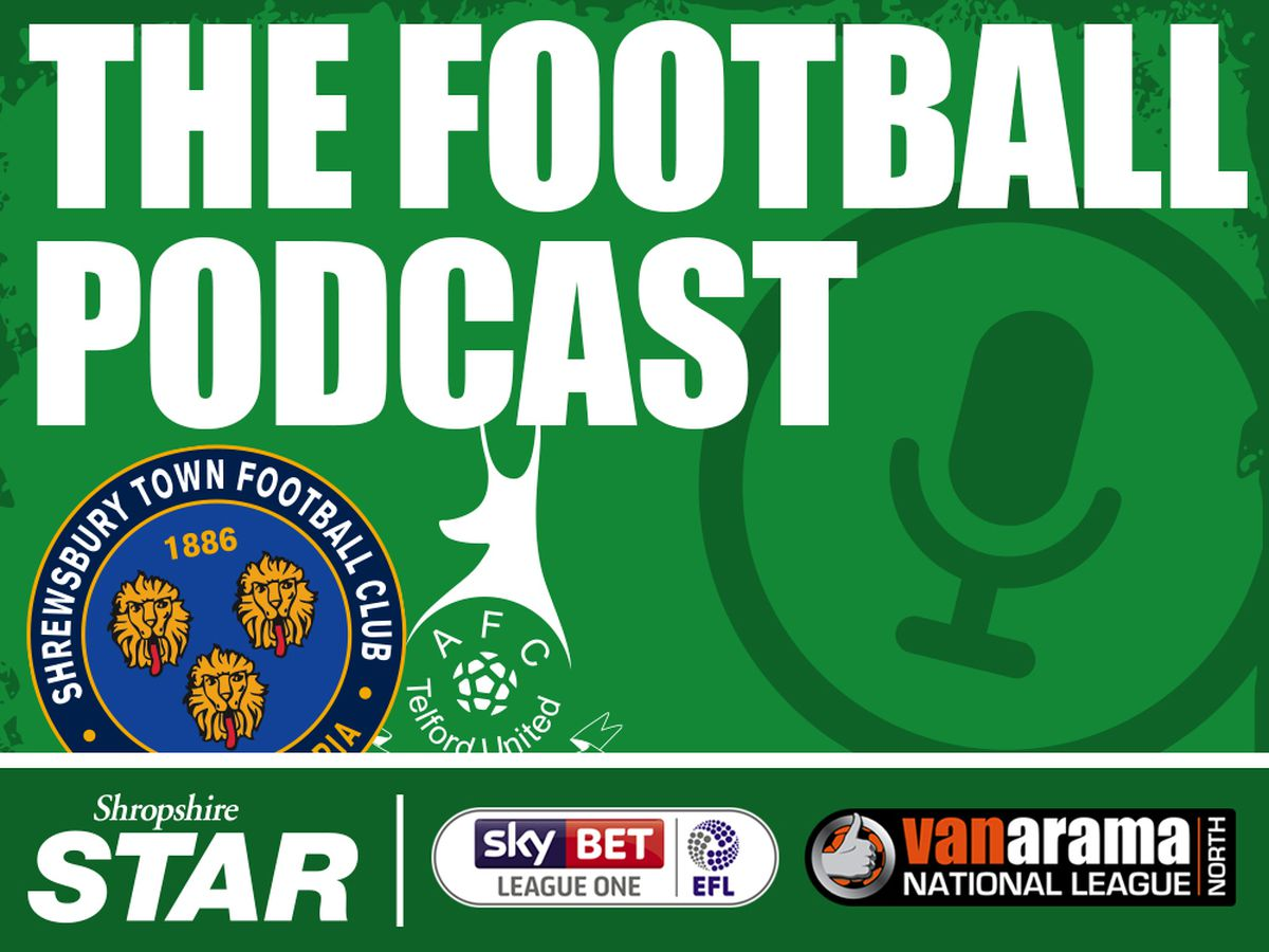 Shropshire Football Podcast - Episode seven