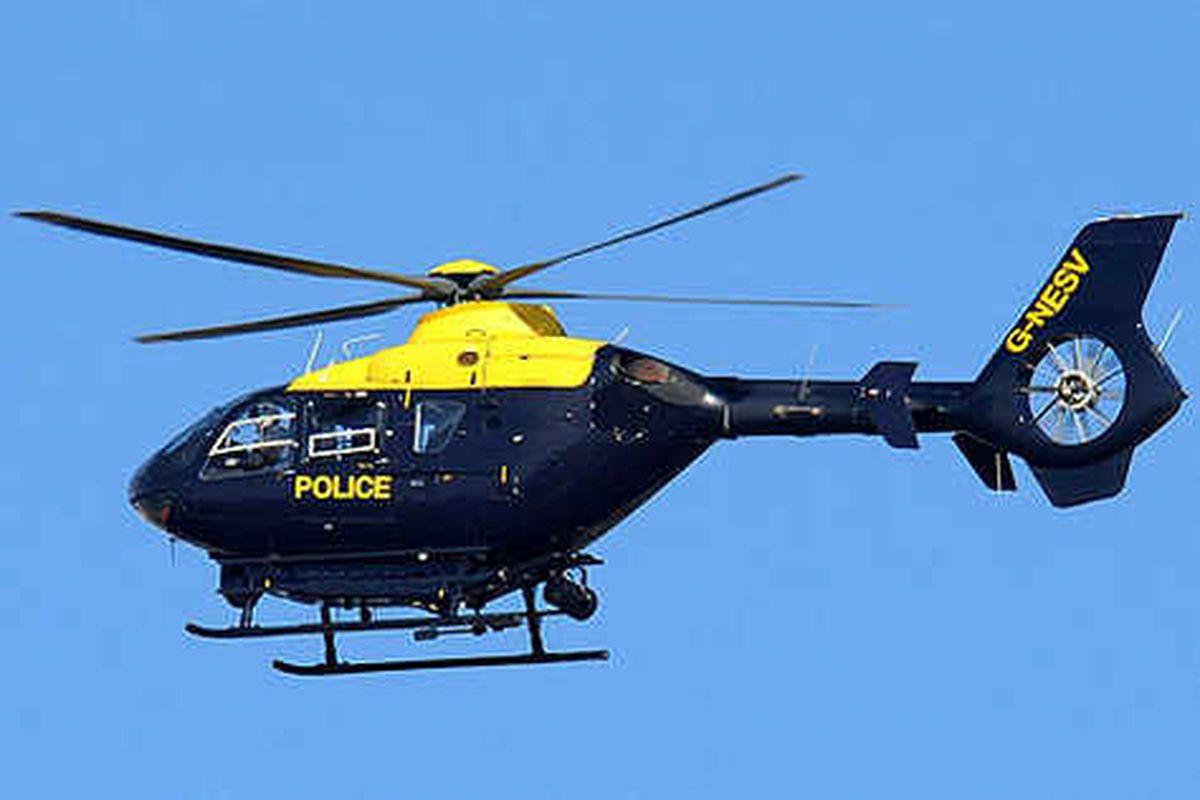 Police lives at risk after laser pen dazzles pilot