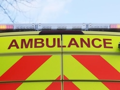 Two injured as lorry and car crash near Whitchurch