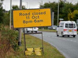 The roadworks on the A49 will last for 12 weeks