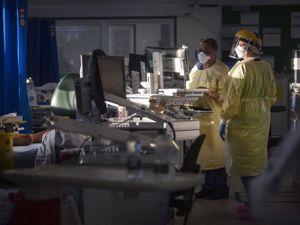 Coronavirus ward in a hospital