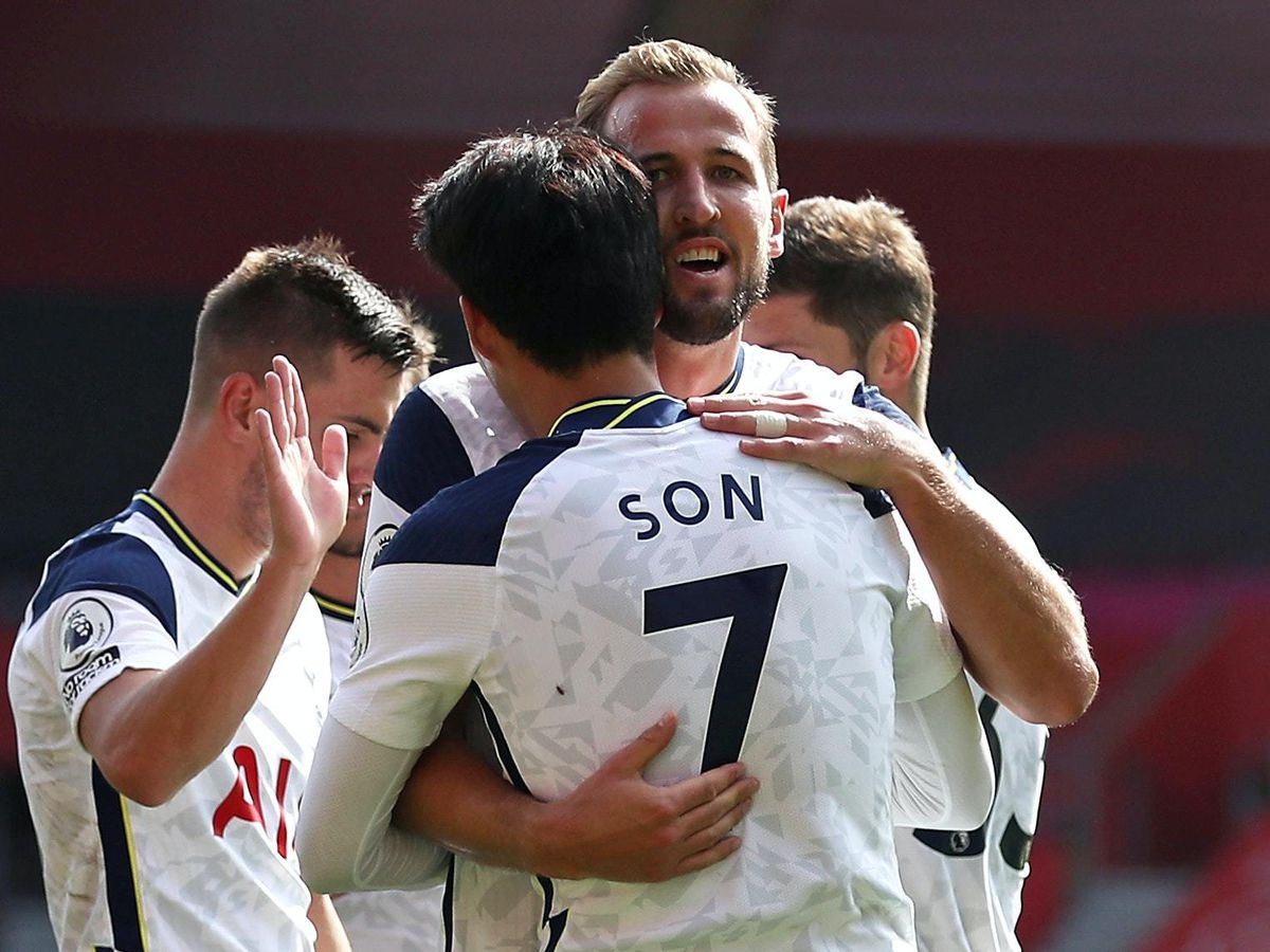 Son Heung-min and Harry Kane starred at St Mary's