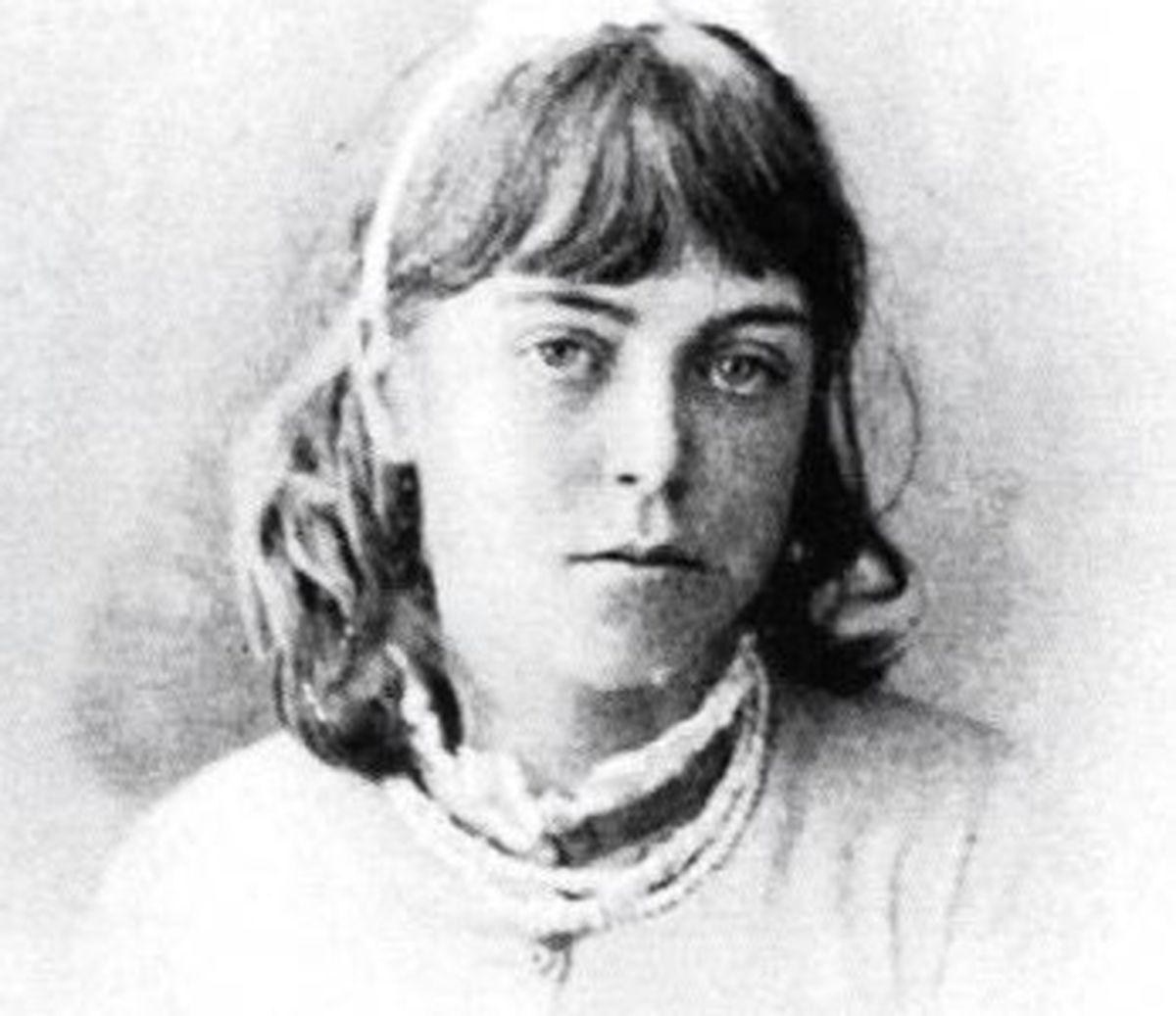 A young Agnes Hunt