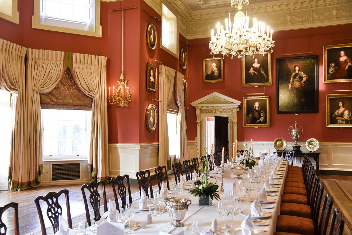 Weston Park's renovated dining room