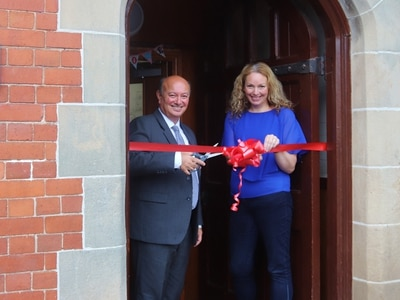 Historic day for college boarding house