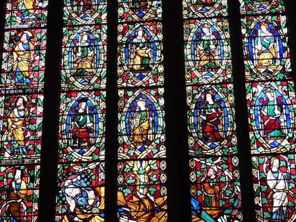 Phil Gillam: Stained class at St Mary's Church