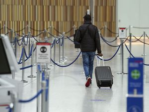 Passenger at Heathrow