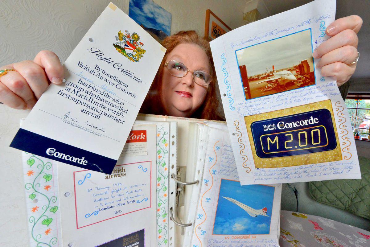 Sue Adams recalls her flight on Concorde in 1983