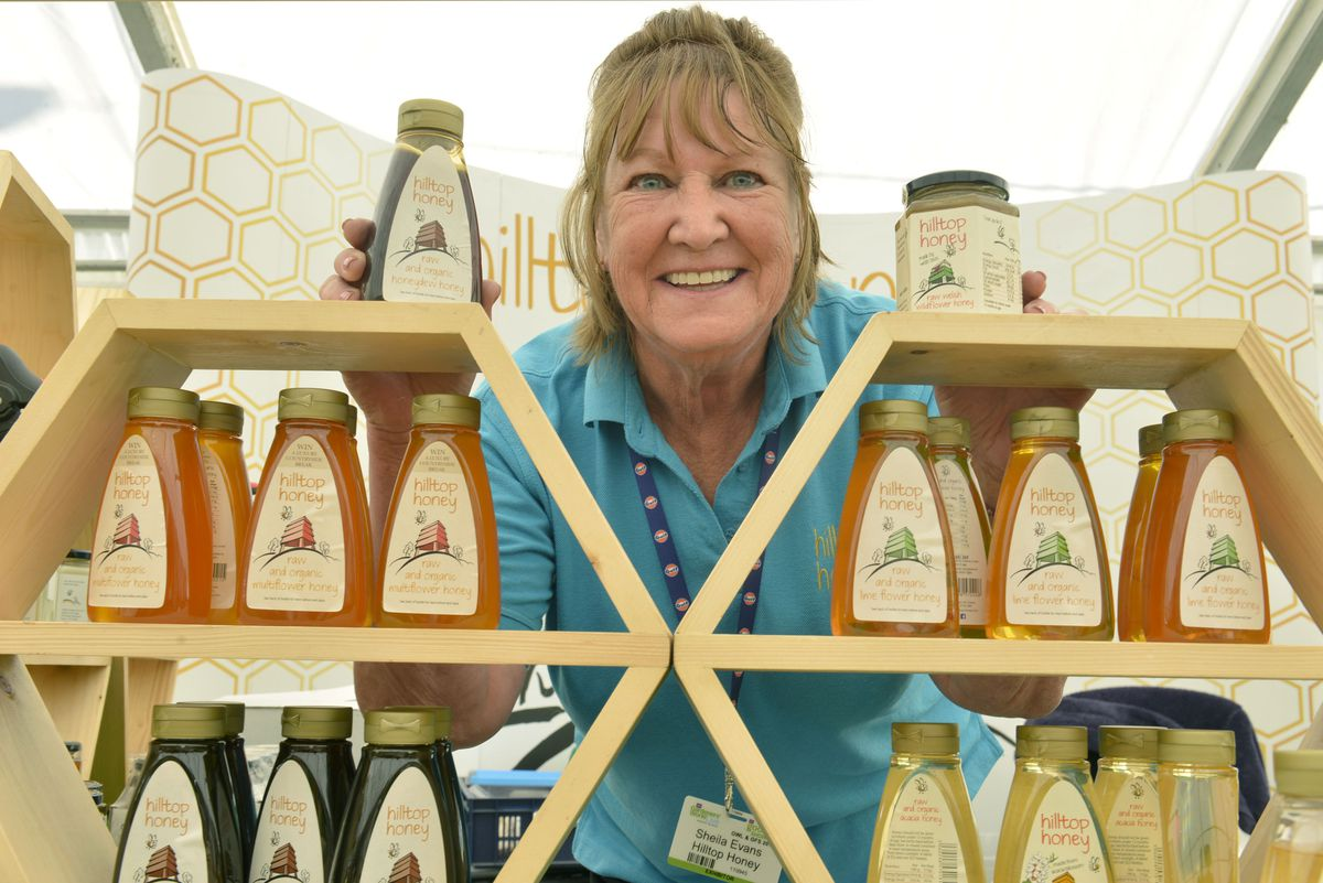 Sheila Evans from Hilltop Honey