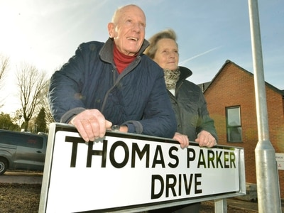 Telford street name honour for electrical genius Thomas Parker