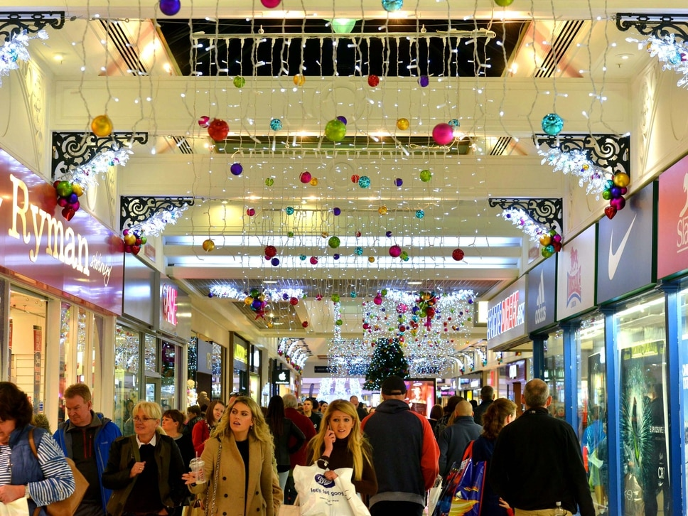 Telford lighting up for Christmas