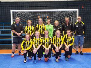 Worthern girls team in national futsal finals