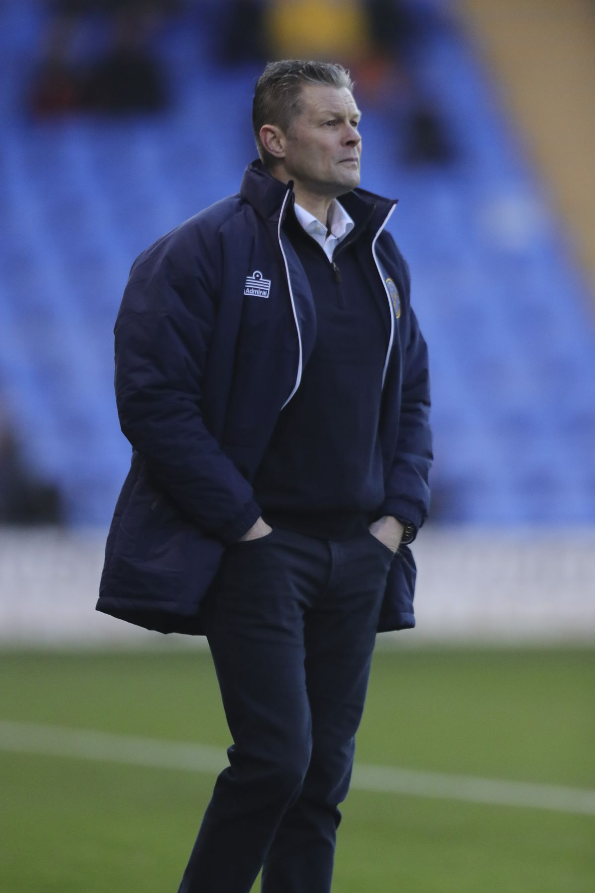 Steve Cotterill was in intensive care in Bristol with Covid-19 over the weekend (AMA)
