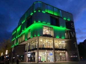 Southwater will be lit up green to celebrate the success