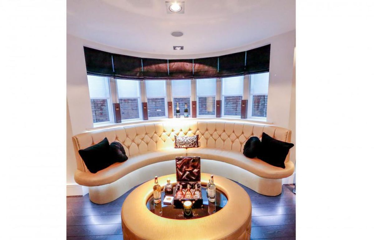 A cosy area for drinks. Picture: Rightmove