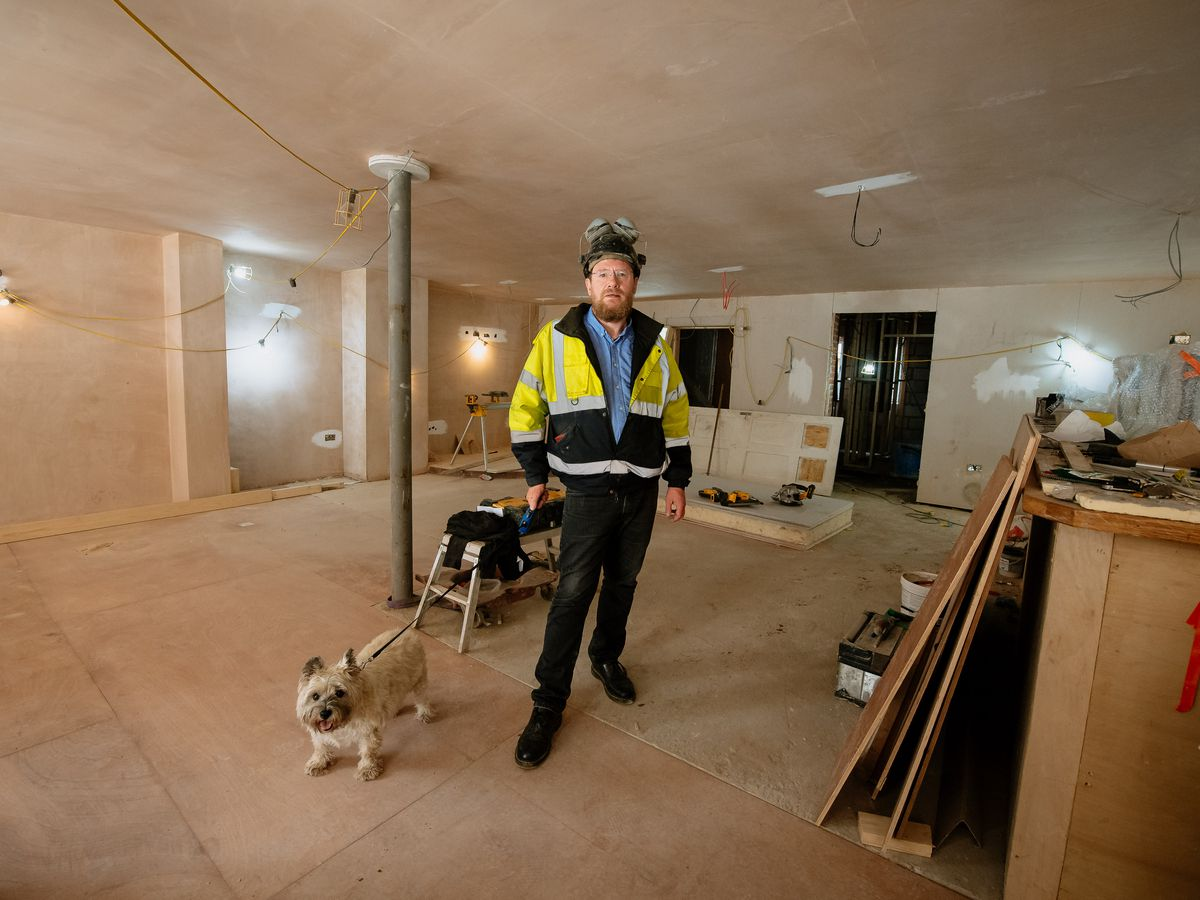 Chris Jones is turning the Albion Vaults in Shrewsbury into a 12-bedroom hotel