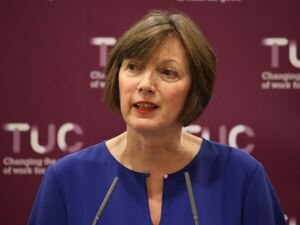 Frances O'Grady, General Secretary of the Trades Union Congress, during a press conference at the Grand Hotel in Brighton on day one of the 2019 TUC Congress. PRESS ASSOCIATION Photo. Picture date: Sunday September 8, 2019. See PA story POLITICS Brexit. Photo credit should read: Andrew Matthews/PA Wire