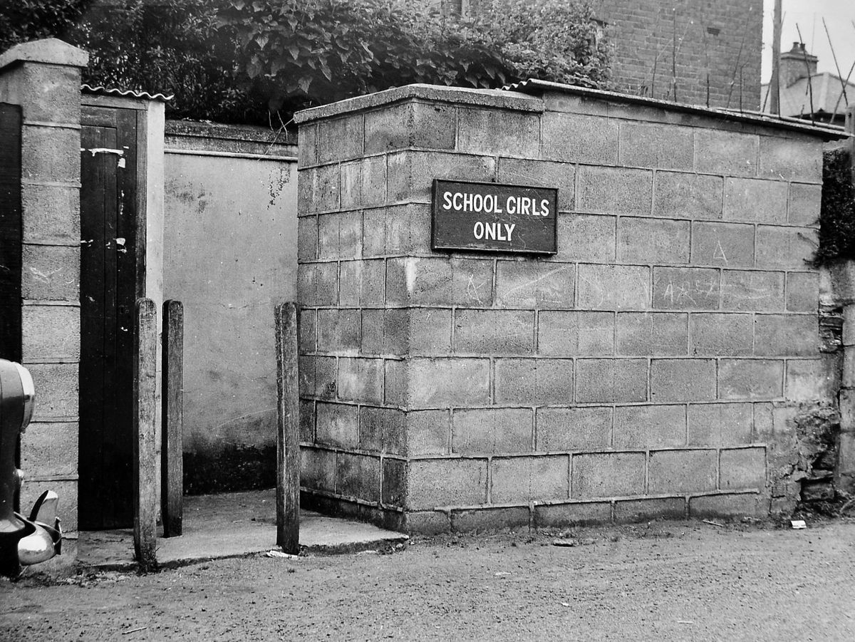 The schoolgirls-only toilets in Bishop's Castle.