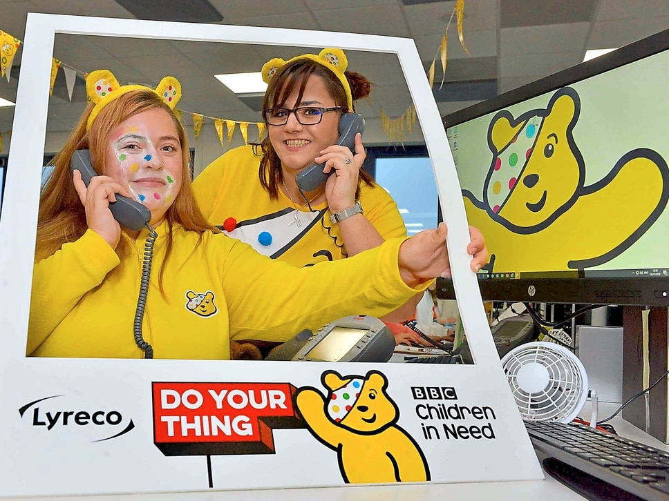Children In Need: Shropshire joins in the fundraising fun